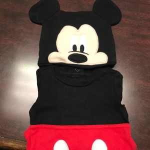 Other - Mickey Mouse onesie with hat